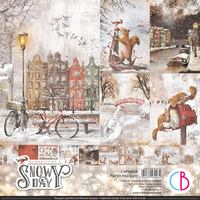 Ciao Bella Paper Pad 12x12 - Memories of A Snowy day