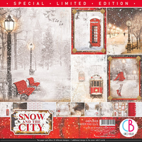 Ciao Bella paper Pad 12x12 - Snow and the City Special ...