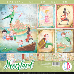 Ciao Bella Paper Pad 12x12 - Neverland Special Limited ...