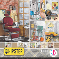 Ciao Bella Paper Pad 12x12 - Hipster
