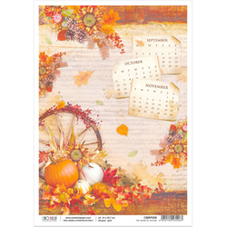 Ciao Bella Rispapper A4 - The sounds of autumn