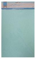 MD A4  Soft Glitter Paper 5 pack - Mint