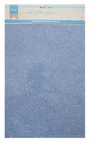 MD A4 Soft Glitter Paper 5 pack - Blue