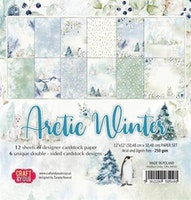 Craft & You 12x12 Paperpad  - Arctic Winter