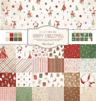 Maja Design 12X12 Collection Pack - Happy Christmas