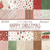 Maja design 6x6 Collection Pack - Happy Christmas