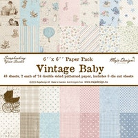 Maja Design 6x6 Collection Pack - Vintage Baby