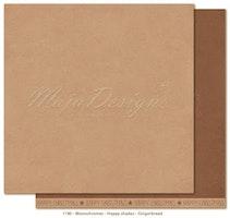 Maja Design Monochromes 12X12 Happy Shades - Gingerbread
