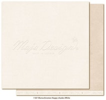 Maja Design Monochromes 12x12 Happy Shades - White