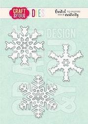 Craft & You Die - Set of Snowflakes