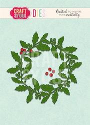 Craft & You Die - Christmas wreath