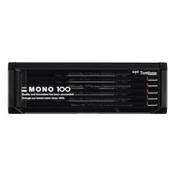 Tombow Mono 100 Blyertspennor 4B 12-pack