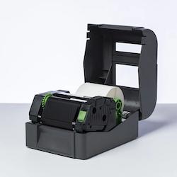 Brother BRP-1D300-110 Svart färgband i premiumharts 12-Pack