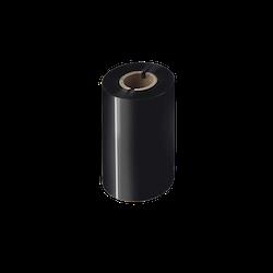 Brother BSP-1D300-110 Svart färgband i premiumvax/-harts 12-Pack