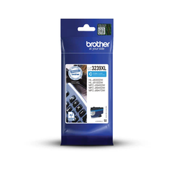 Brother LC3239XLC originalbläckpatron med hög kapacitet, Cyan