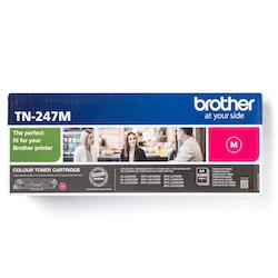 Brother TN247M original tonerkassett, magenta