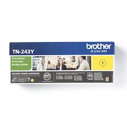 Brother TN243Y original tonerkassett, gul