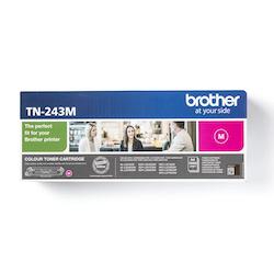Brother TN243M original tonerkassett, Magenta