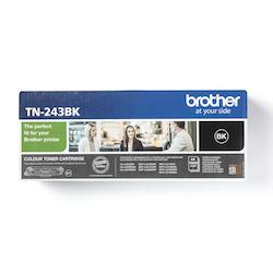 Brother TN243BK original tonerkassett, svart