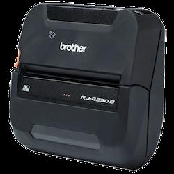 Brother RJ-4230B Mobil Etikett/kvittoskrivare