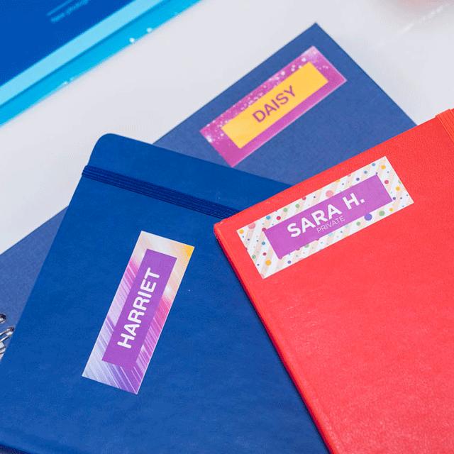 Brother VC-500W etikettskrivare för färgutskrifter
