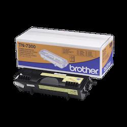 Brother TN7300 orginal tonerkassett, svart
