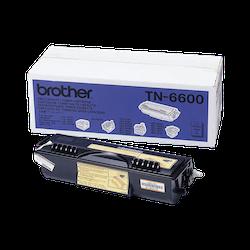 Brother TN6600 orginal tonerkassett, svart