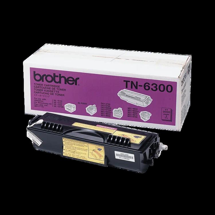 Brother TN6300 orginal tonerkassett, svart