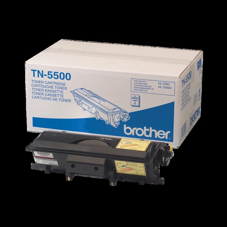 Brother TN5500 original tonerkassett med hög kapacitet, svart