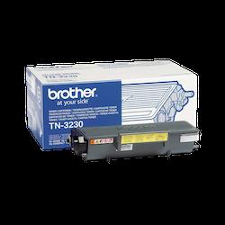 Brother TN3230 original tonerkassett, svart