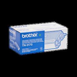 Brother TN-3170 original tonerkassett med hög kapacitet, Svart
