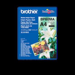 Brother BP60MA original Matt A4 -bläck- papper 25 sidor