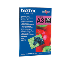 Brother BP71GA3 original blankt fotopapper A3