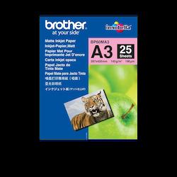 Brother BP60MA3 original Matt A3 -Inkjet papper