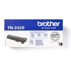 Brother TN-2420 original tonerkassett, Svart