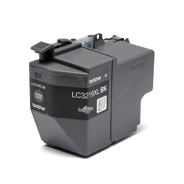 Brother LC3219XLBK original hög kapacitet bläckpatron, svart