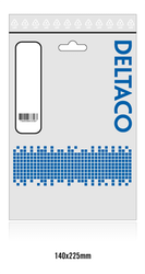 Deltaco USB 2.0 Typ A -> C 1m vit USBC-1009