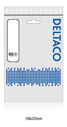 Deltaco USB 3.1 Typ C 0,25m vit USBC-1057