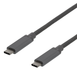 Deltaco USB 3.1 Typ C 0,5m grå USBC-1361