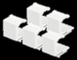 Deltaco VR-229 blindplugg för Keystone-portar 5-pack