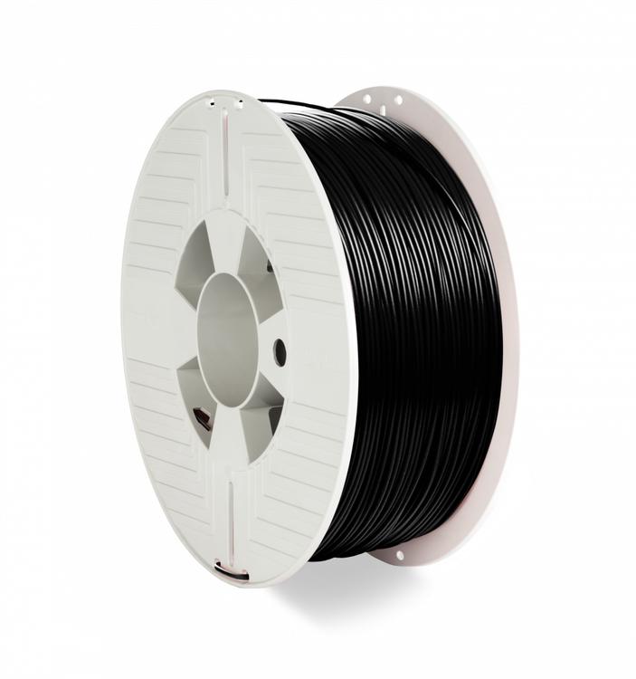 Verbatim 55318 PLA filament 1.75 mm 1 kg Svart