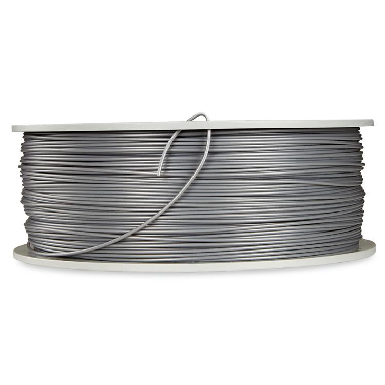 Verbatim 55319 PLA filament 1.75 mm 1 kg Silver / Metall grå
