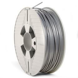 Verbatim 55329 PLA filament 2.85 mm 1 kg Silver / Metall grå