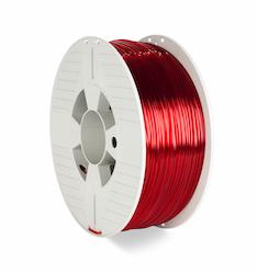 Verbatim 55062 PET-G filament 2.85 mm 1 kg Röd transparent