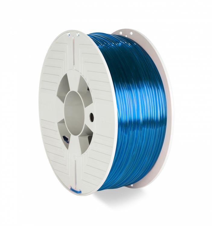 Verbatim 55064 PET-G filament 2.85 mm 1 kg Blå transparent
