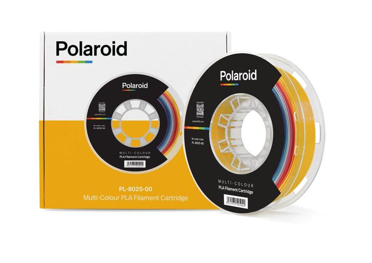 Polaroid PL-8025-00 PLA filament 1.75 mm 1 kg Flerfärgad