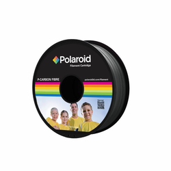 Polaroid PL-8505-00 P-Kolfiber filament 1.75 mm 1 kg Svart / grå