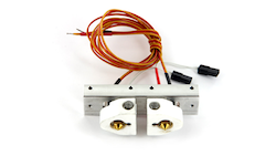 MakerBot Replicator Bar Mount Assembly w/ Stranded Thermocouple