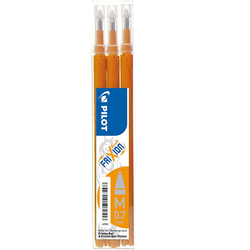 Pilot Frixion Ball Refill 0,7 Orange 3-pack