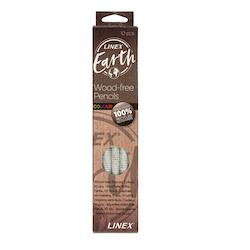 Linex Earth Färgpennor 10-pack